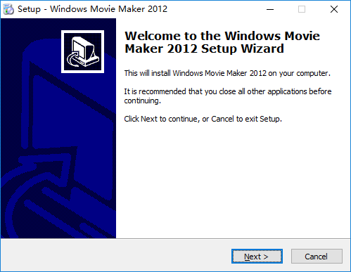 windows movie maker 2012 install package