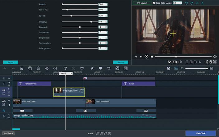 Win Movie Maker for Mac screenshot