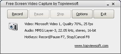 Free Screen Video Capture by Topviewsoft 3.1.7.0 full